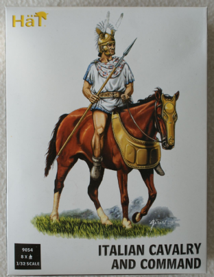 HaT 1/32 HAT9054 Italian Cavalry and Command (Ancients)